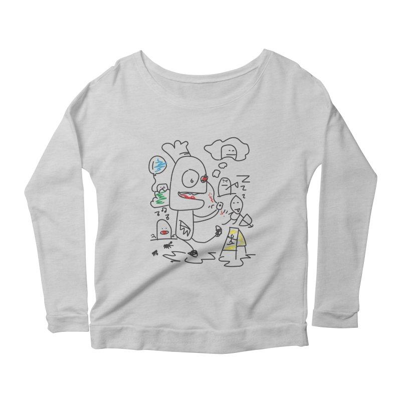 CHAOS Women's Longsleeve T-Shirt by Turkeylegsray's Artist Shop