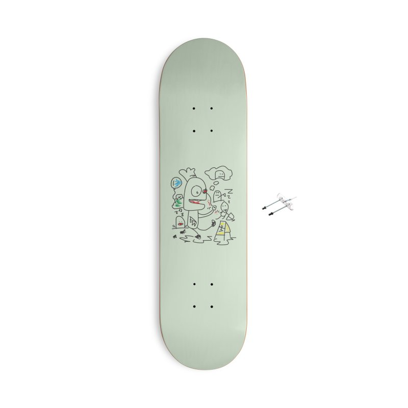CHAOS Accessories Skateboard by Turkeylegsray's Artist Shop