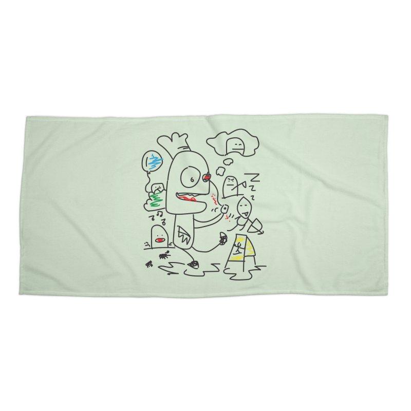 CHAOS Accessories Beach Towel by Turkeylegsray's Artist Shop