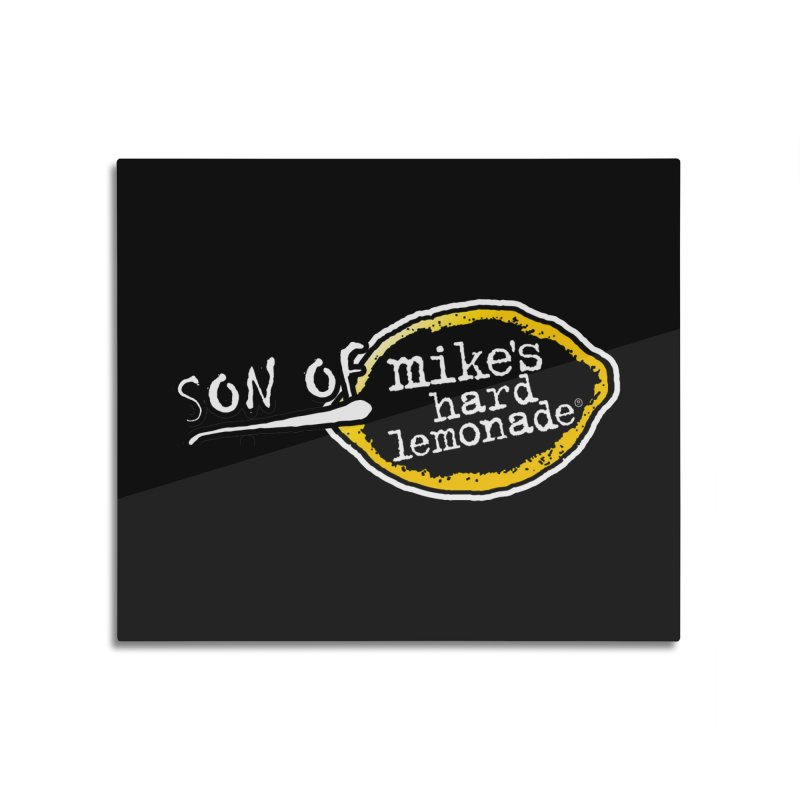 Son of Mike's Home Mounted Aluminum Print by Turkeylegsray's Artist Shop