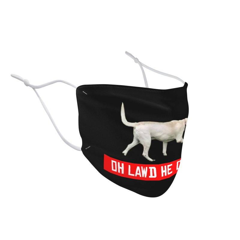 OH LAWD Accessories Face Mask by Turkeylegsray's Artist Shop
