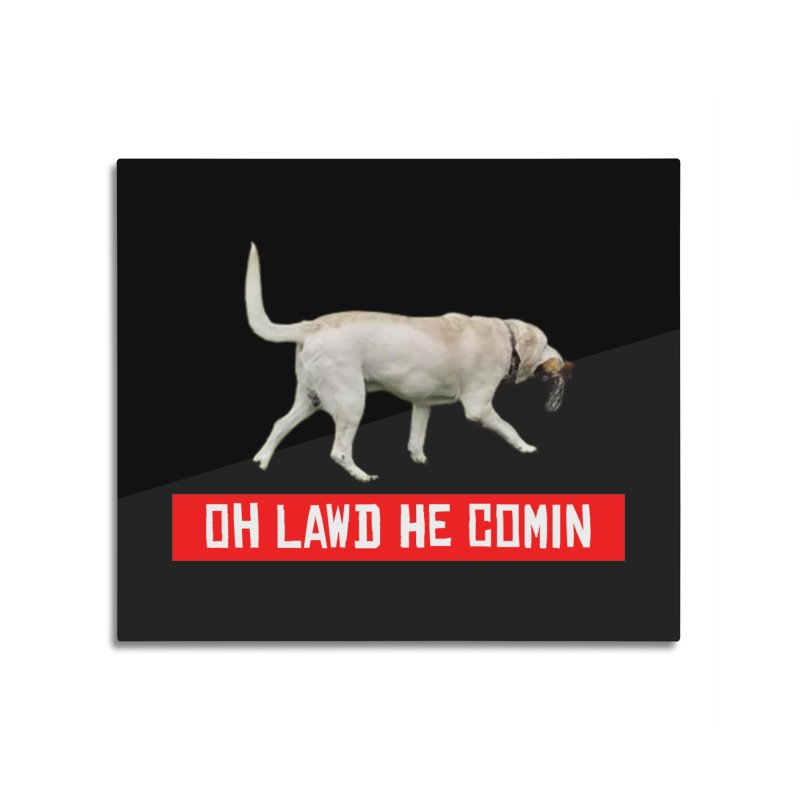 OH LAWD Home Mounted Aluminum Print by Turkeylegsray's Artist Shop