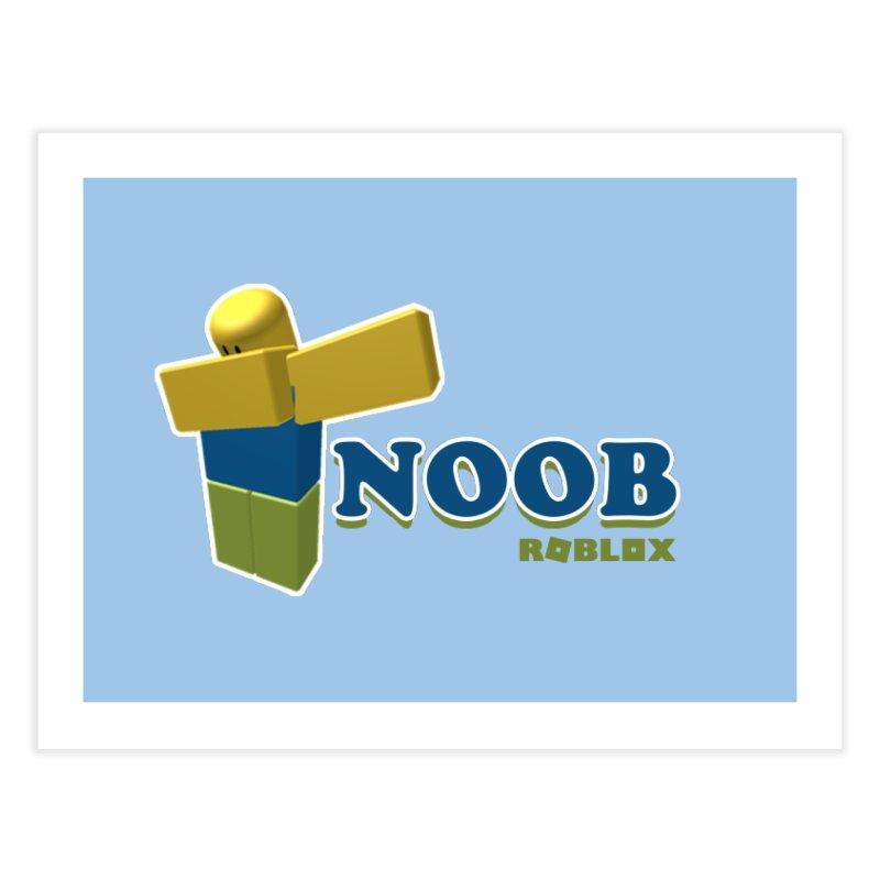 NOOB Home Fine Art Print by Turkeylegsray's Artist Shop