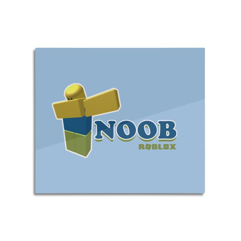 NOOB Home Mounted Aluminum Print by Turkeylegsray's Artist Shop