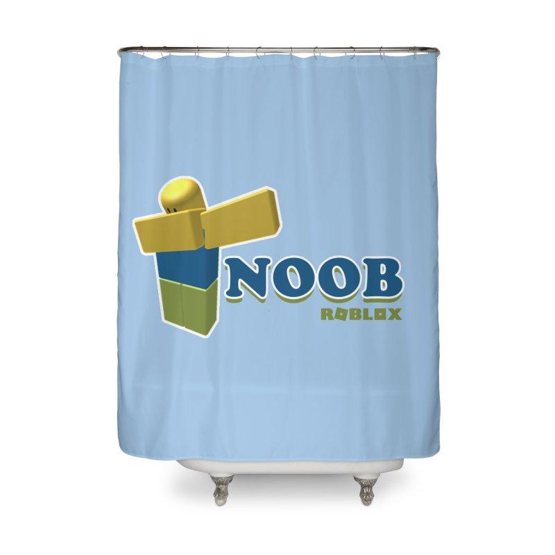 NOOB Home Shower Curtain by Turkeylegsray's Artist Shop