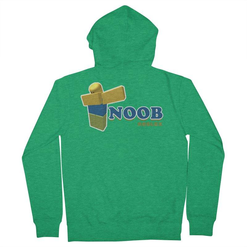 NOOB Men's Zip-Up Hoody by Turkeylegsray's Artist Shop