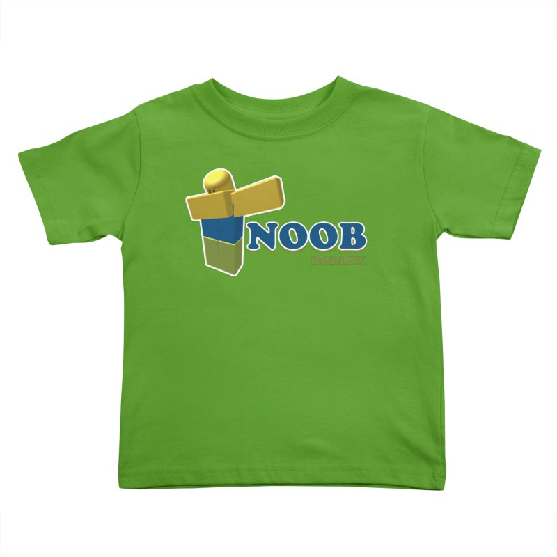 NOOB Kids Toddler T-Shirt by Turkeylegsray's Artist Shop