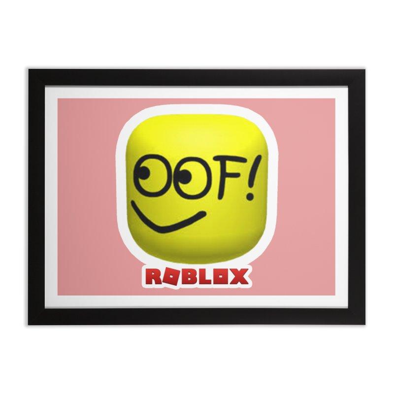 OOF! Home Framed Fine Art Print by Turkeylegsray's Artist Shop