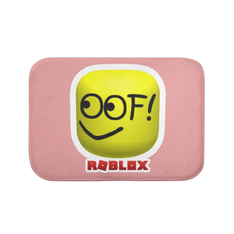 OOF! Home Bath Mat by Turkeylegsray's Artist Shop