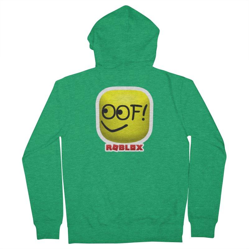 OOF! Men's Zip-Up Hoody by Turkeylegsray's Artist Shop