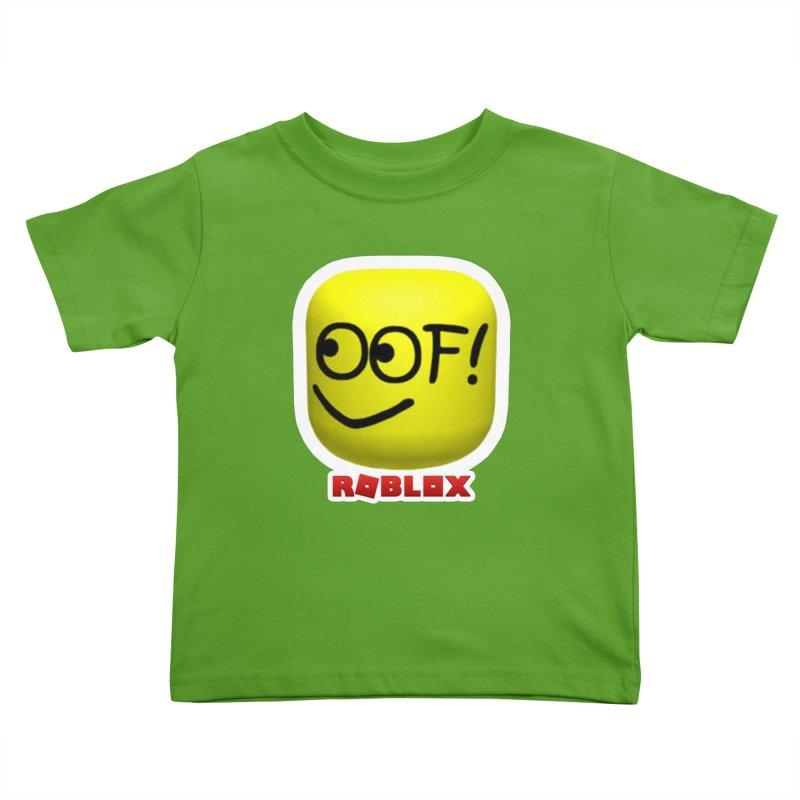 OOF! Kids Toddler T-Shirt by Turkeylegsray's Artist Shop