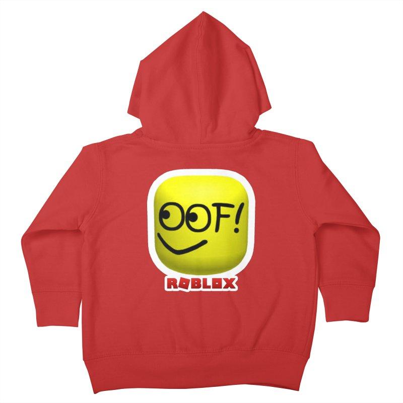 OOF! Kids Toddler Zip-Up Hoody by Turkeylegsray's Artist Shop
