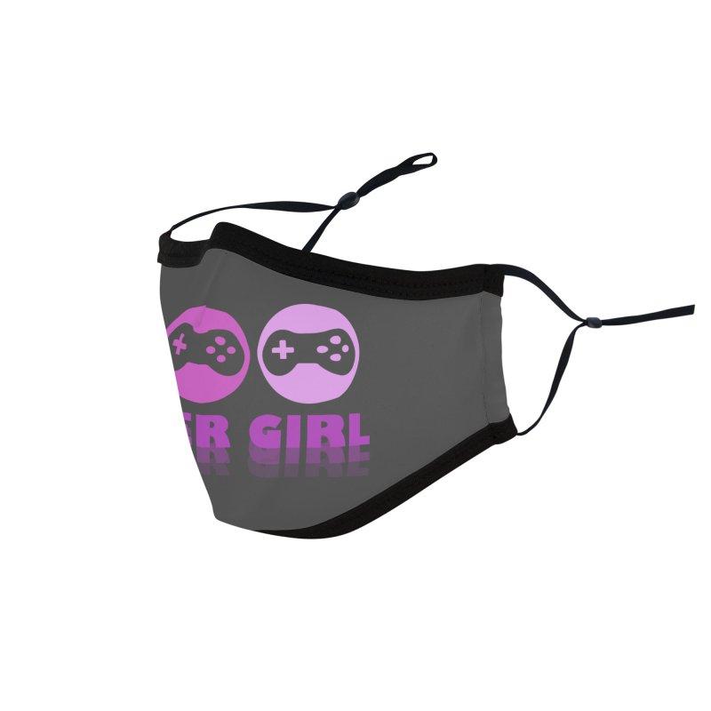 GAMER GIRL Accessories Face Mask by Turkeylegsray's Artist Shop