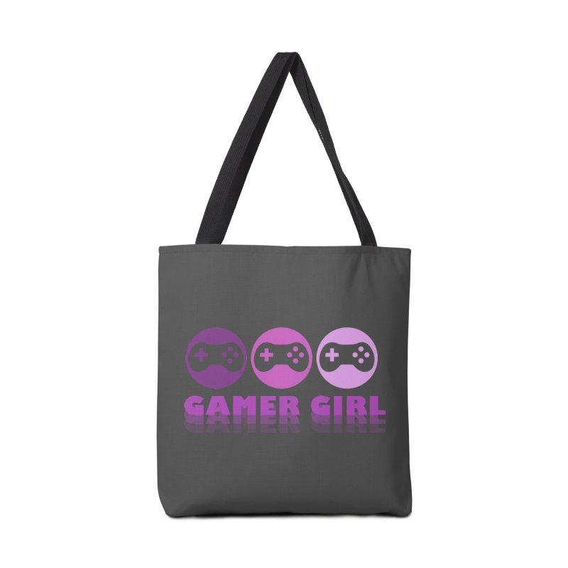 GAMER GIRL Accessories Bag by Turkeylegsray's Artist Shop