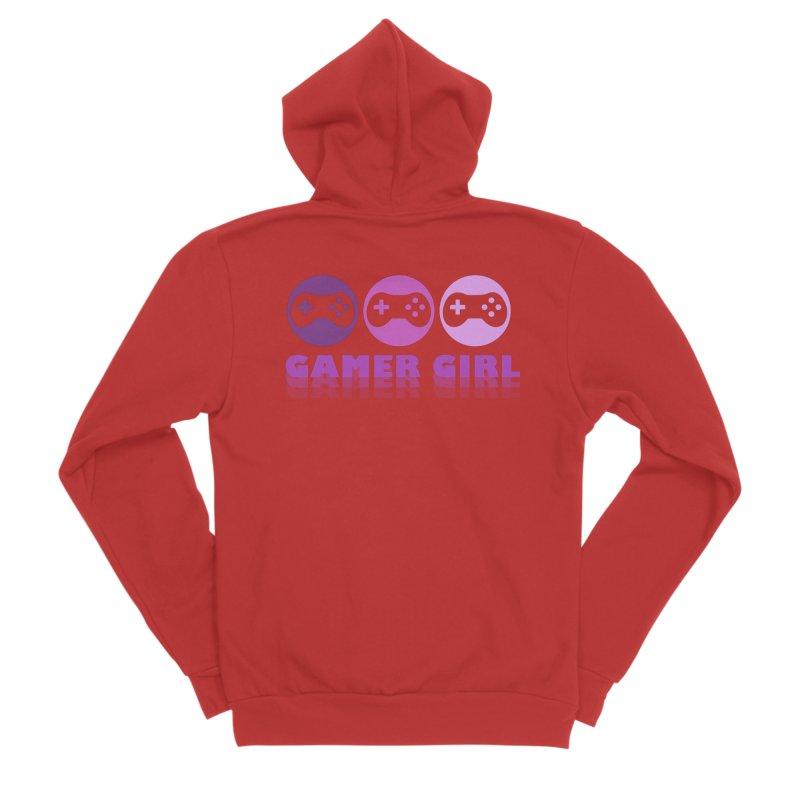 GAMER GIRL Men's Zip-Up Hoody by Turkeylegsray's Artist Shop