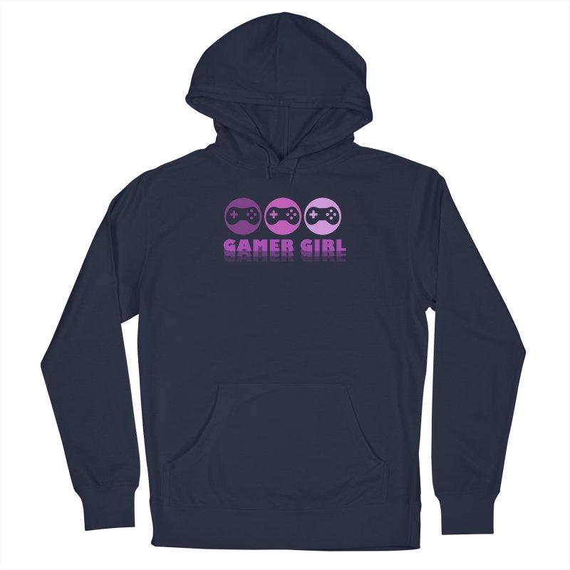 GAMER GIRL Men's Pullover Hoody by Turkeylegsray's Artist Shop
