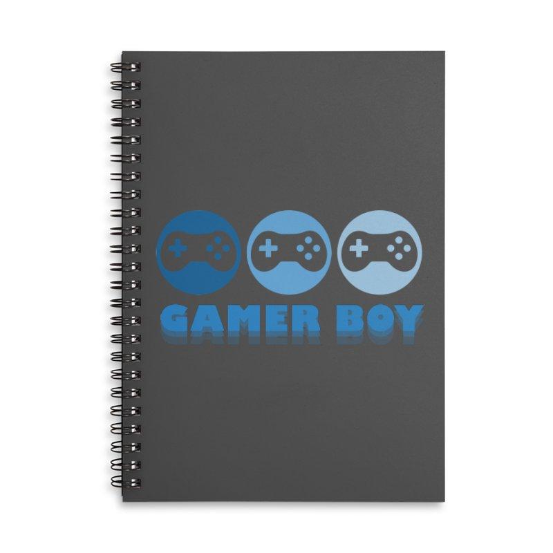 GAMER BOY Accessories Notebook by Turkeylegsray's Artist Shop