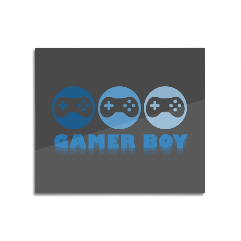 GAMER BOY Home Mounted Acrylic Print by Turkeylegsray's Artist Shop