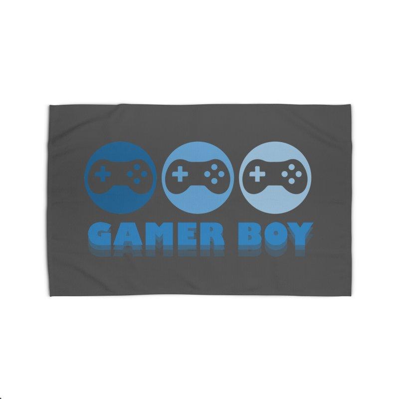 GAMER BOY Home Rug by Turkeylegsray's Artist Shop