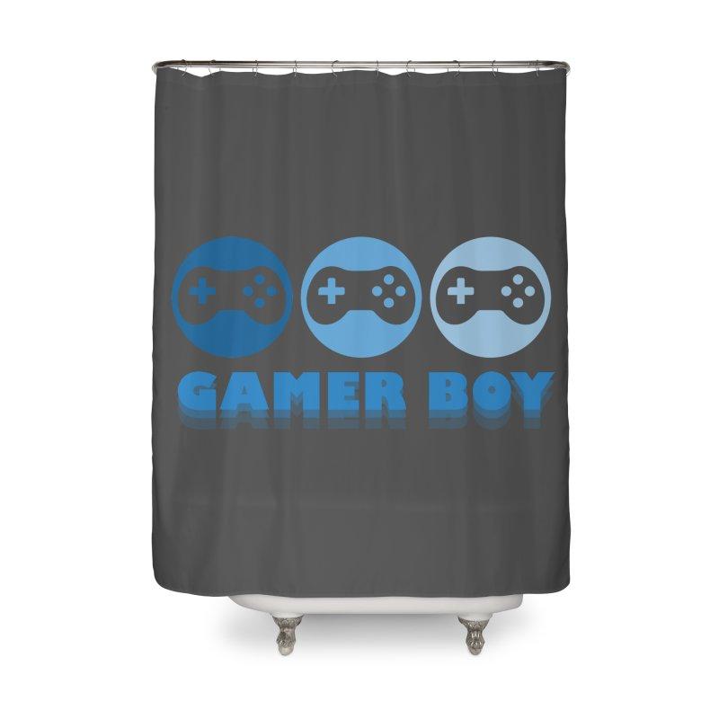 GAMER BOY Home Shower Curtain by Turkeylegsray's Artist Shop