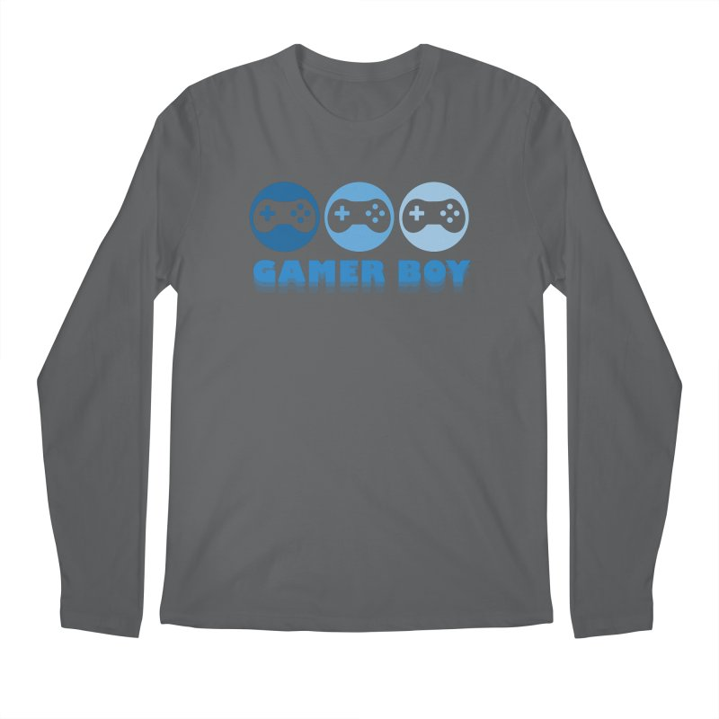 GAMER BOY Men's Longsleeve T-Shirt by Turkeylegsray's Artist Shop