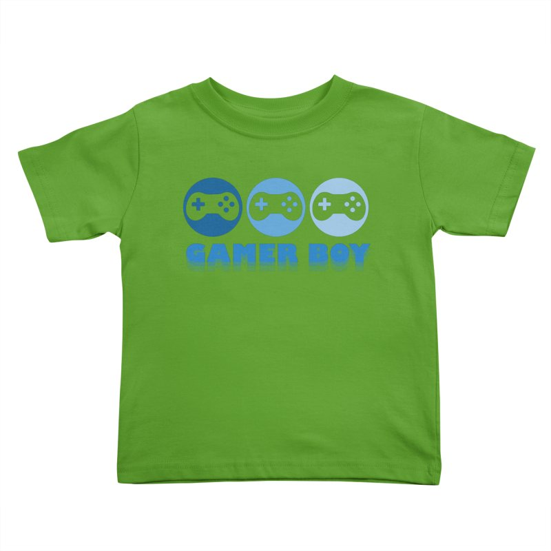GAMER BOY Kids Toddler T-Shirt by Turkeylegsray's Artist Shop