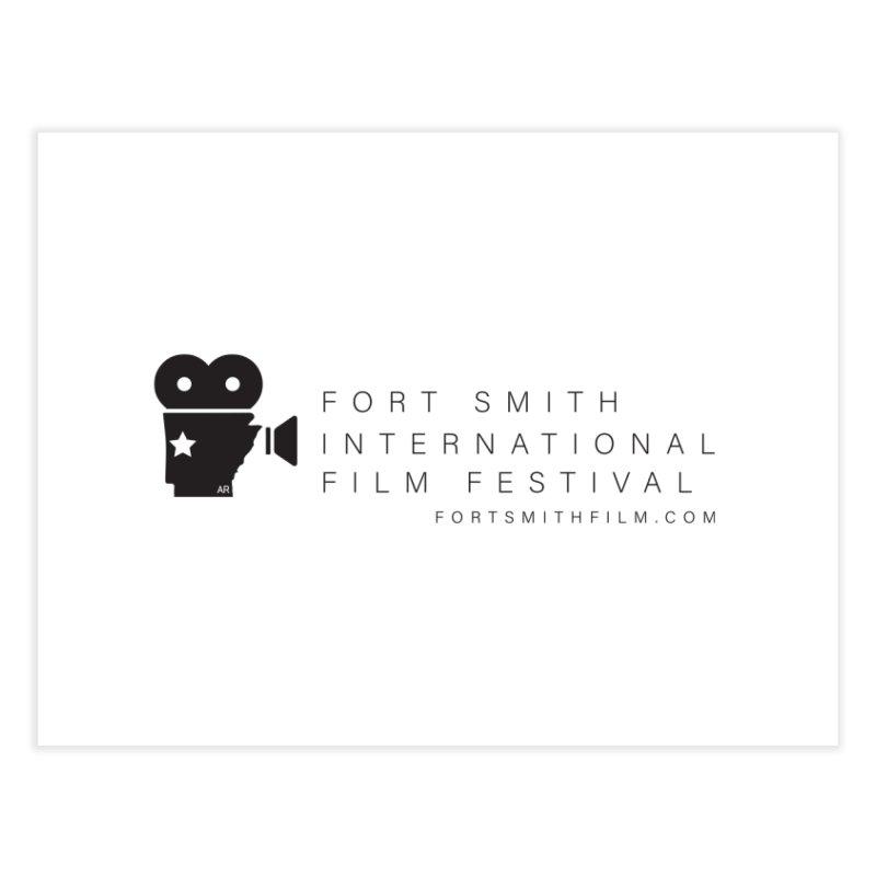 Fort Smith Film Fest (Black) Home Fine Art Print by Turkeylegsray's Artist Shop