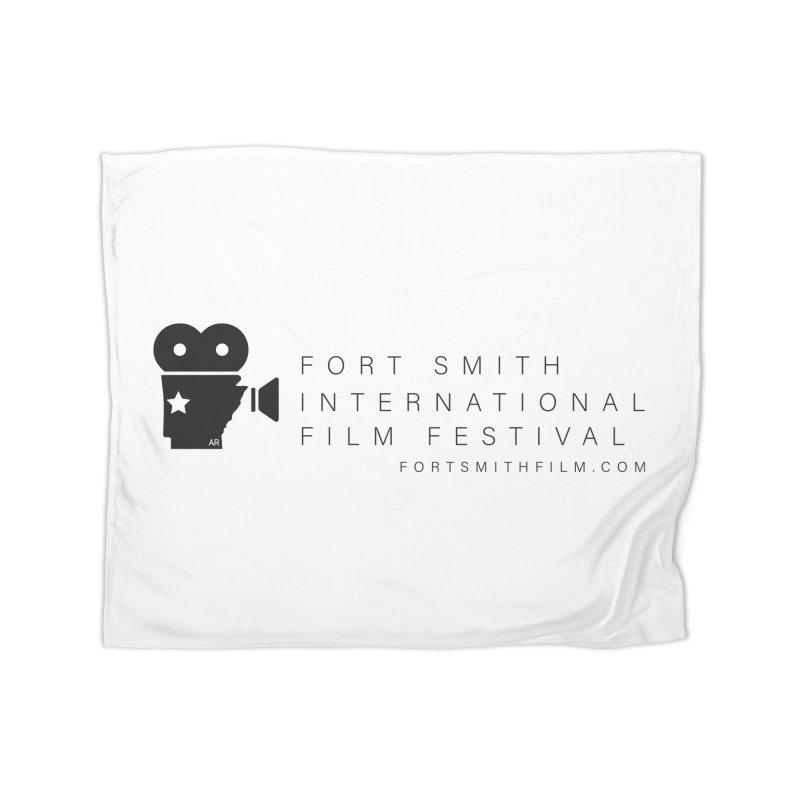 Fort Smith Film Fest (Black) Home Blanket by Turkeylegsray's Artist Shop