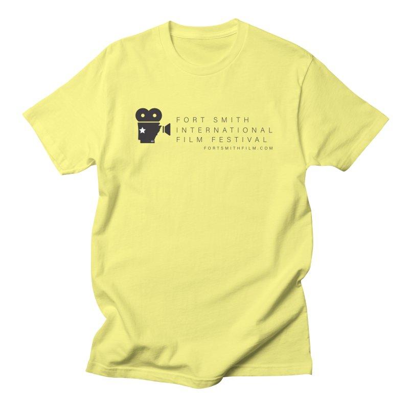 Fort Smith Film Fest (Black) Men's T-Shirt by Turkeylegsray's Artist Shop