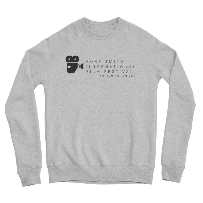 Fort Smith Film Fest (Black) Men's Sweatshirt by Turkeylegsray's Artist Shop