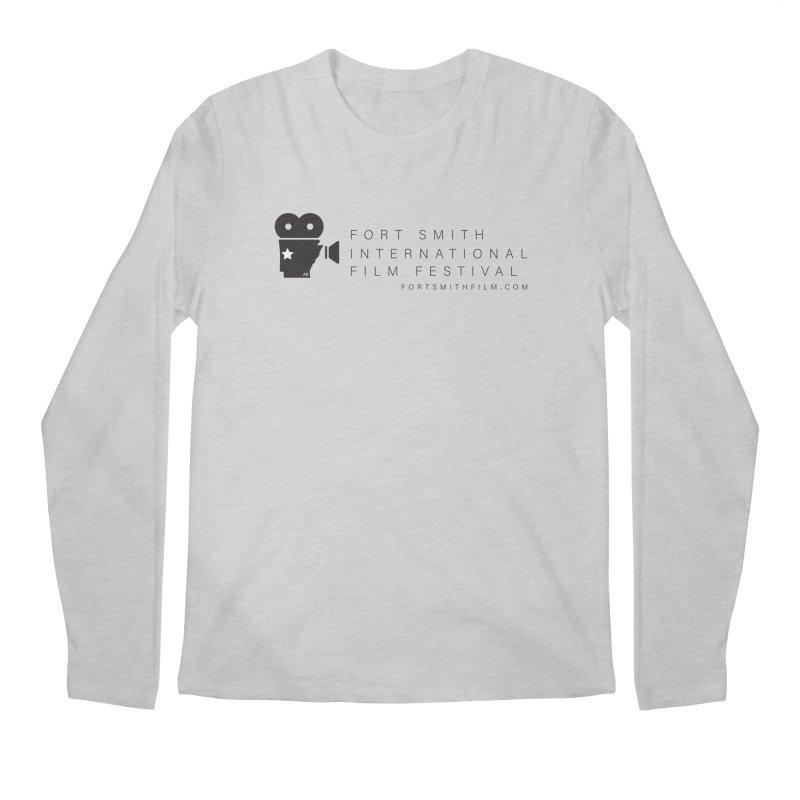 Fort Smith Film Fest (Black) Men's Longsleeve T-Shirt by Turkeylegsray's Artist Shop