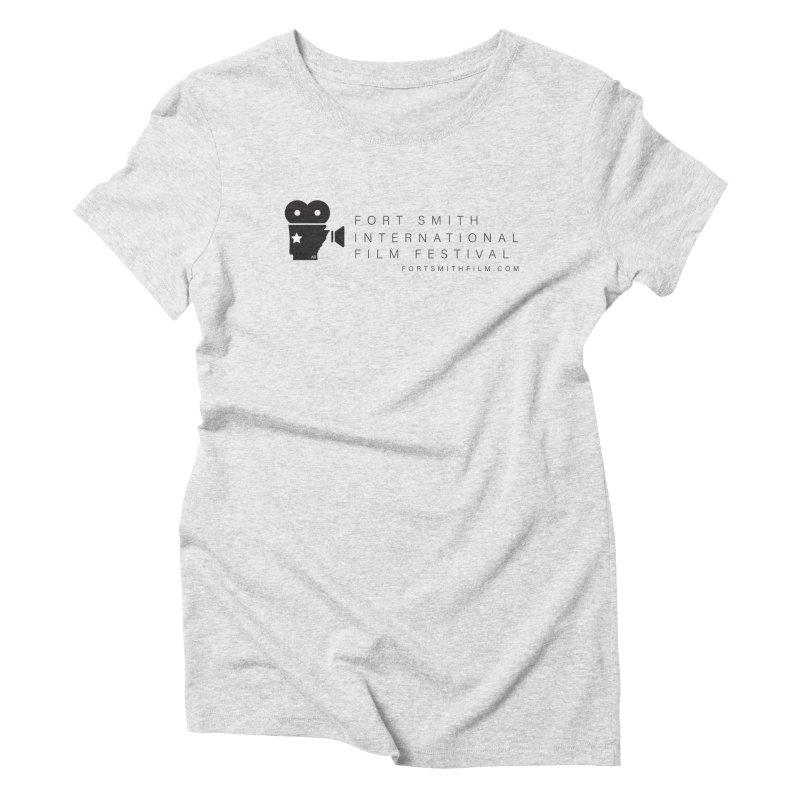 Fort Smith Film Fest (Black) Women's T-Shirt by Turkeylegsray's Artist Shop