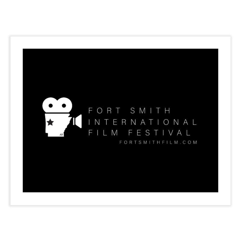 Fort Smith Film Fest (White) Home Fine Art Print by Turkeylegsray's Artist Shop