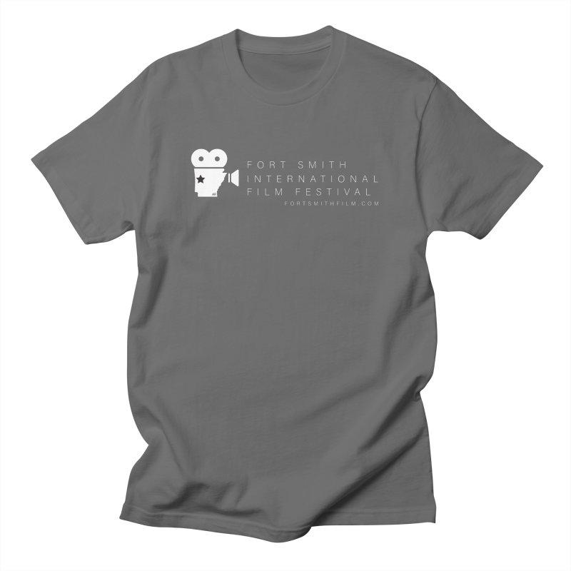 Fort Smith Film Fest (White) Men's T-Shirt by Turkeylegsray's Artist Shop
