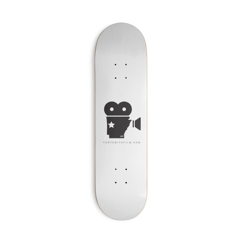Fort Smith Film Fest Icon (Black) Accessories Skateboard by Turkeylegsray's Artist Shop