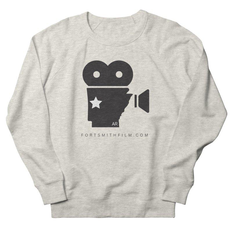 Fort Smith Film Fest Icon (Black) Men's Sweatshirt by Turkeylegsray's Artist Shop