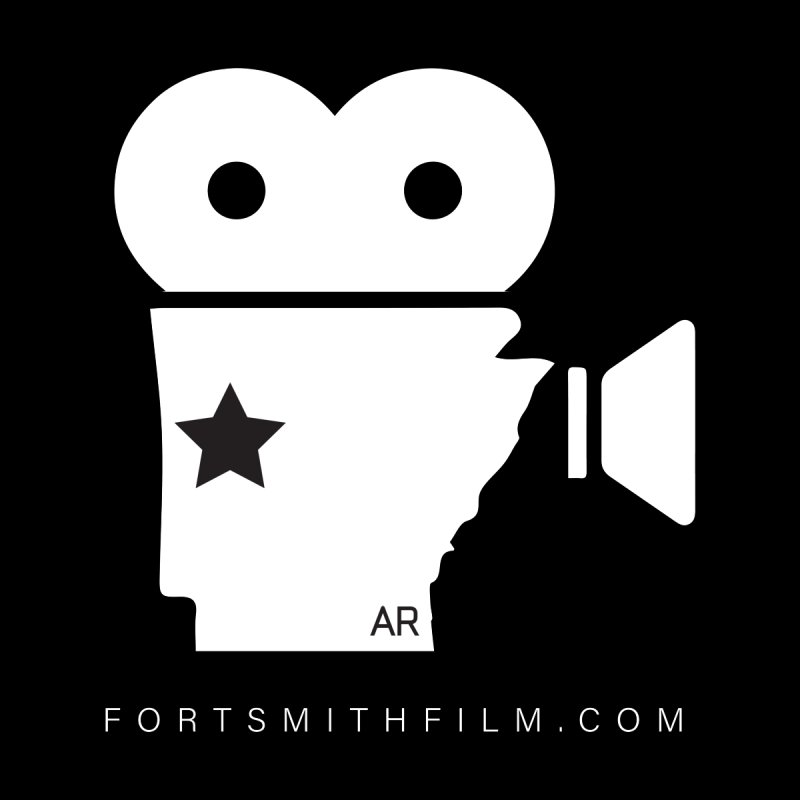 Fort Smith Film Fest Icon (White) Home Mounted Acrylic Print by Turkeylegsray's Artist Shop