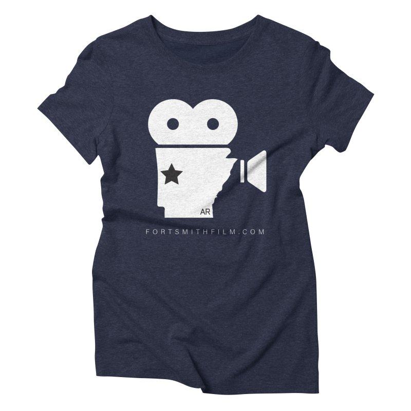 Fort Smith Film Fest Icon (White) Women's T-Shirt by Turkeylegsray's Artist Shop