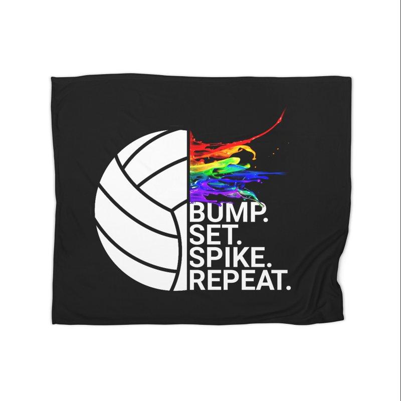Volley Ball Home Blanket by Turkeylegsray's Artist Shop