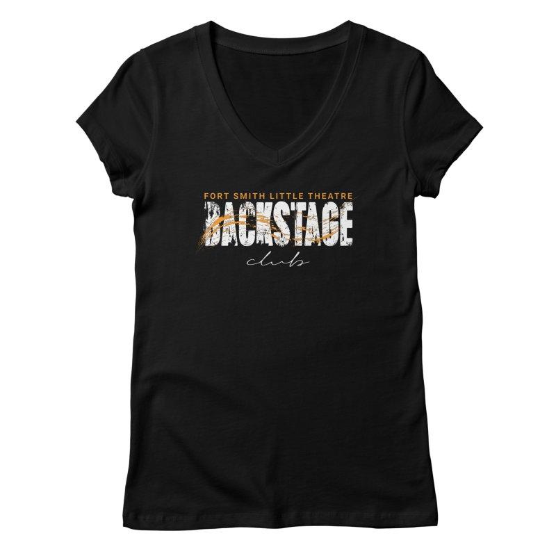 Backstage Women's V-Neck by Turkeylegsray's Artist Shop