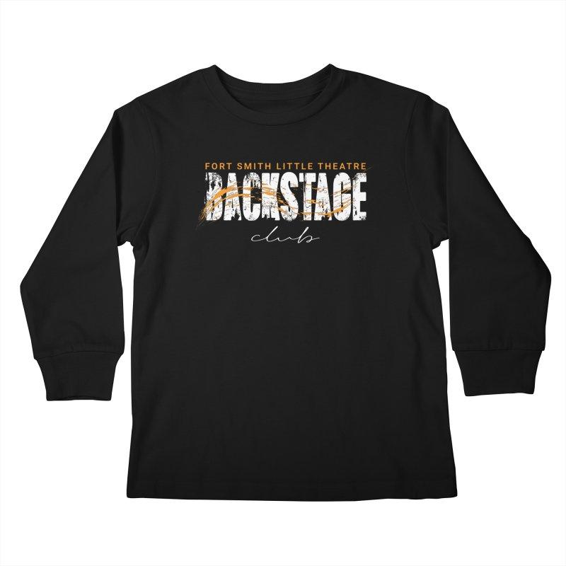 Backstage Kids Longsleeve T-Shirt by Turkeylegsray's Artist Shop