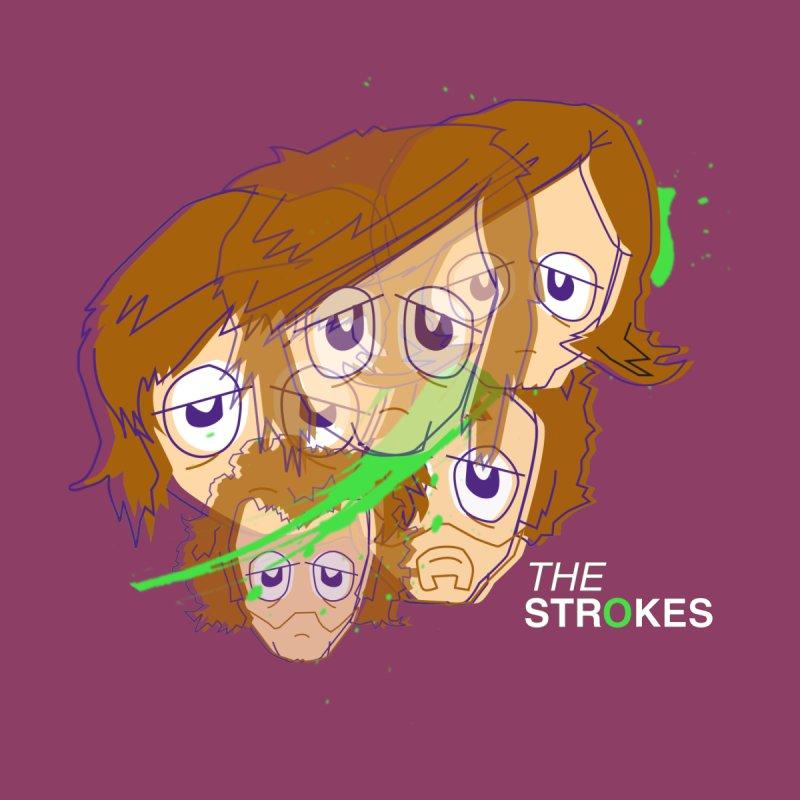 The Strokes Splatter   by Turkeylegsray's Artist Shop