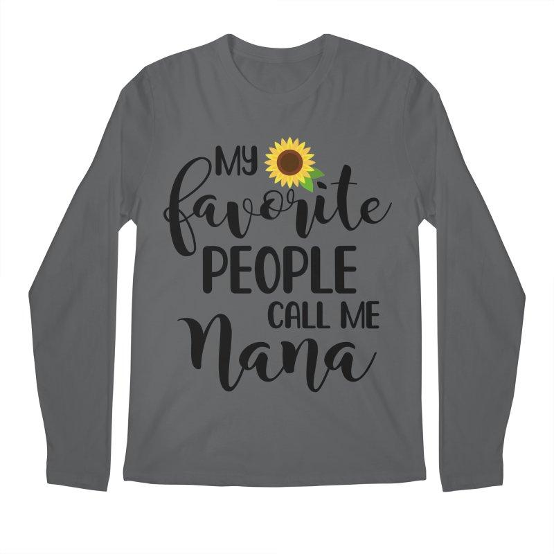 Nana Men's Longsleeve T-Shirt by Turkeylegsray's Artist Shop