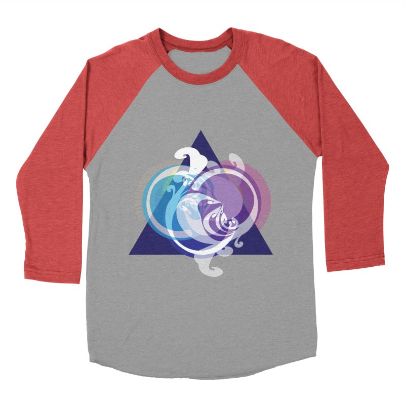 -TRIANGLE-  Women's Baseball Triblend T-Shirt by Turkeylegsray's Artist Shop