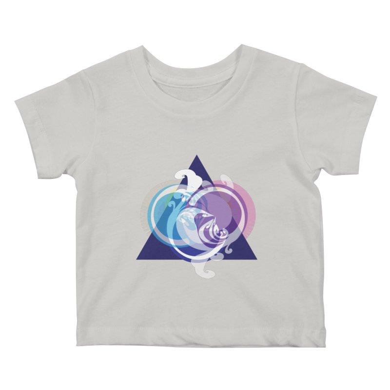 -TRIANGLE-  Kids Baby T-Shirt by Turkeylegsray's Artist Shop