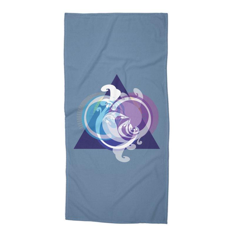 -TRIANGLE-  Accessories Beach Towel by Turkeylegsray's Artist Shop