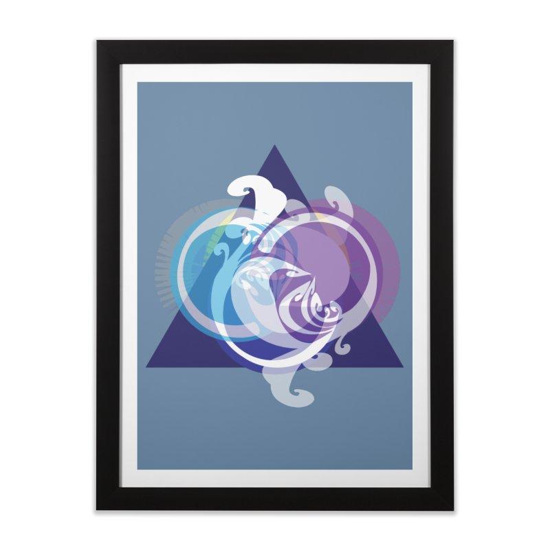 -TRIANGLE-  Home Framed Fine Art Print by Turkeylegsray's Artist Shop