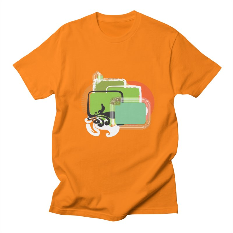 Squares+ Men's T-shirt by Turkeylegsray's Artist Shop