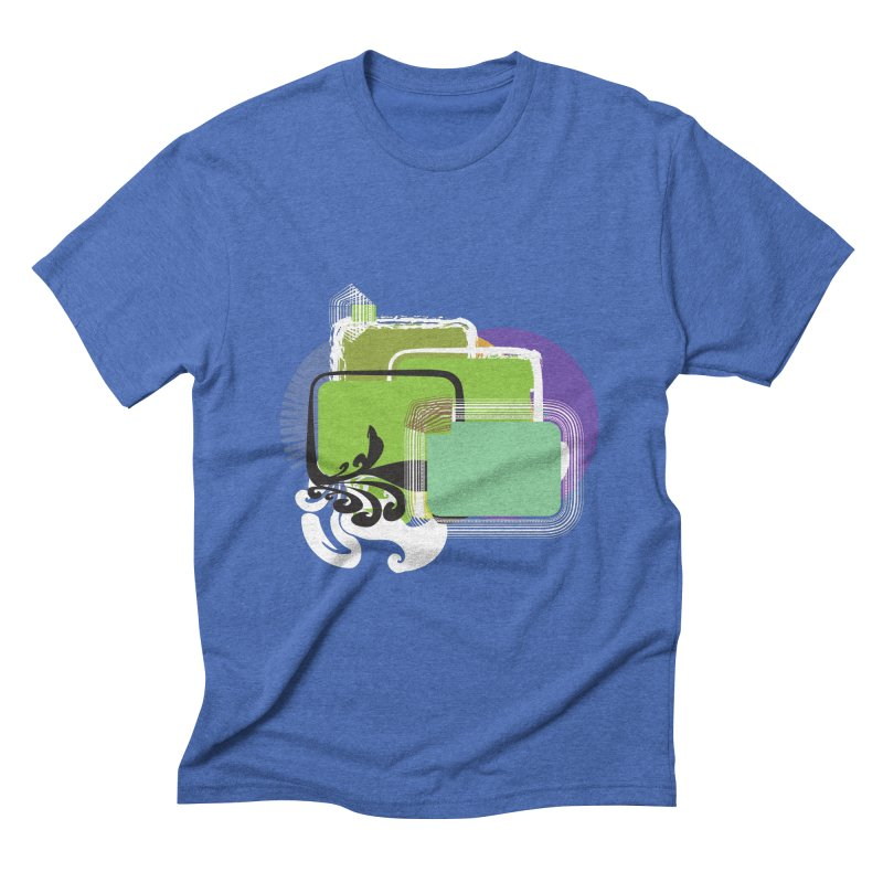 Squares+ Men's Triblend T-shirt by Turkeylegsray's Artist Shop