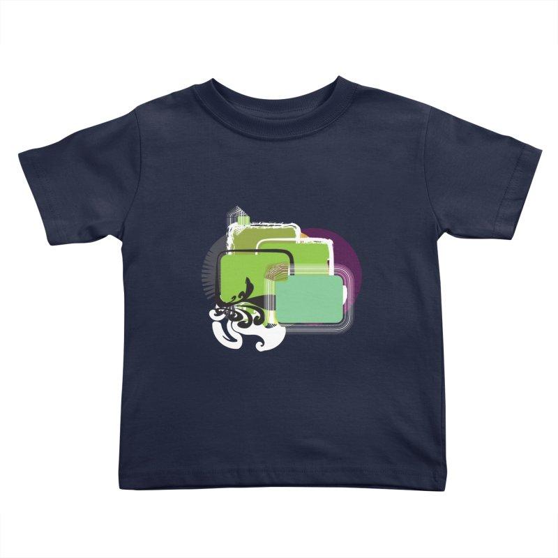 Squares+ Kids Toddler T-Shirt by Turkeylegsray's Artist Shop